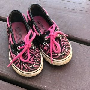 Sperry Top-sider Little girls size 7m